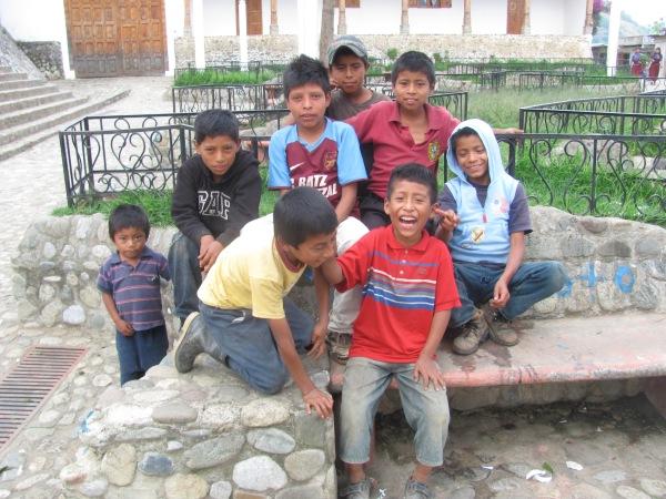 Mayan boys