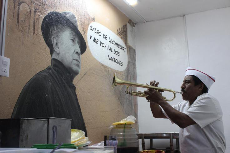 tostada trumpeter