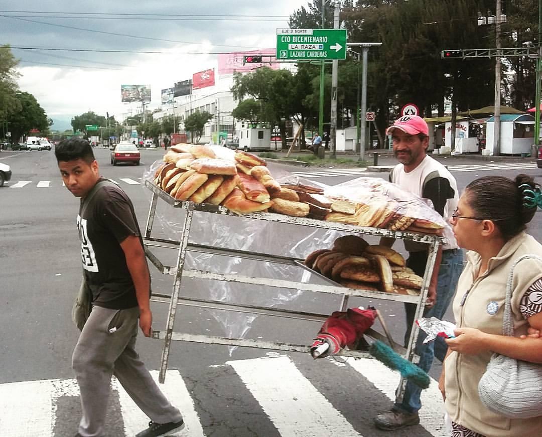 pan en movimiento