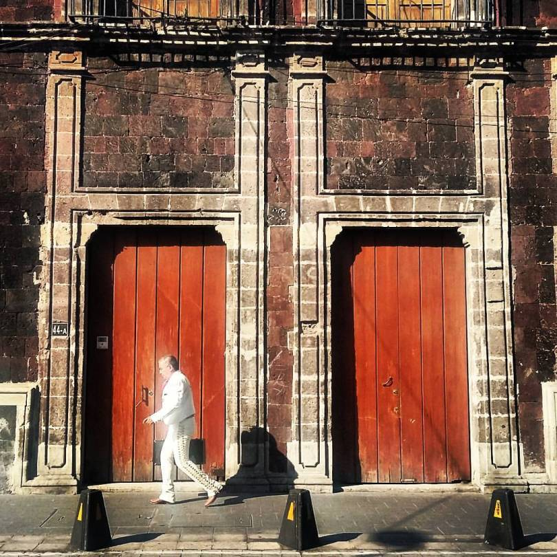 stride of the white mariachi