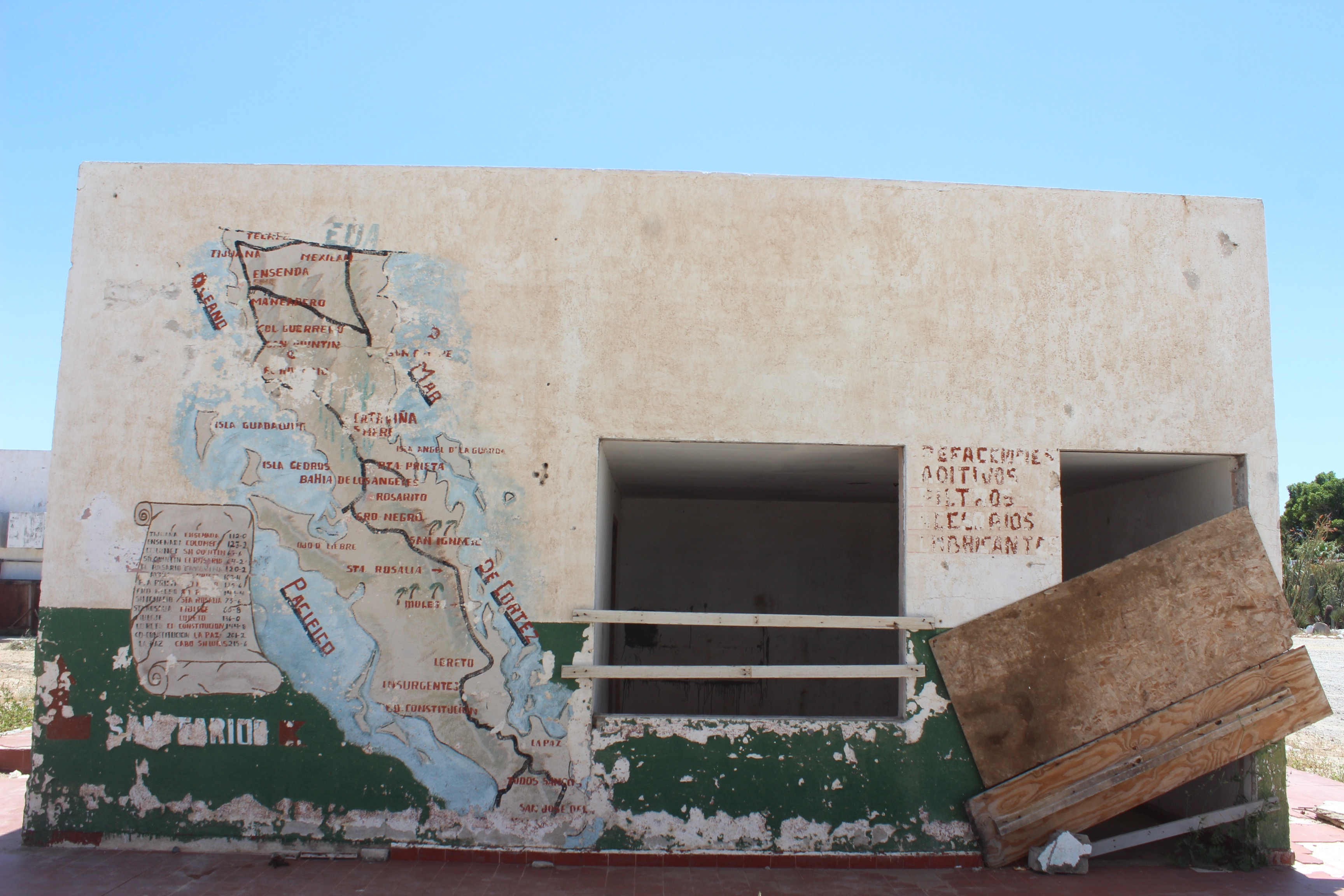 Abandoned Pemex Station At Catavina Baja California Latin America Focus