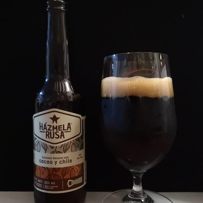 hazmela rusa with glass