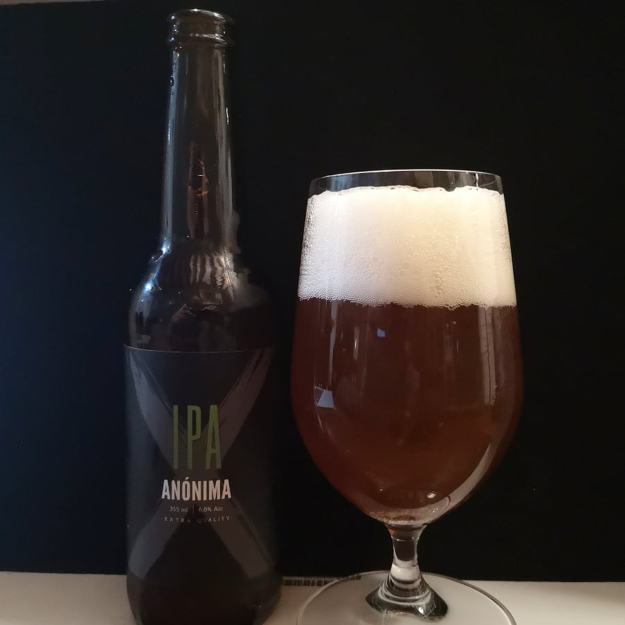 IPA Anónima w glass